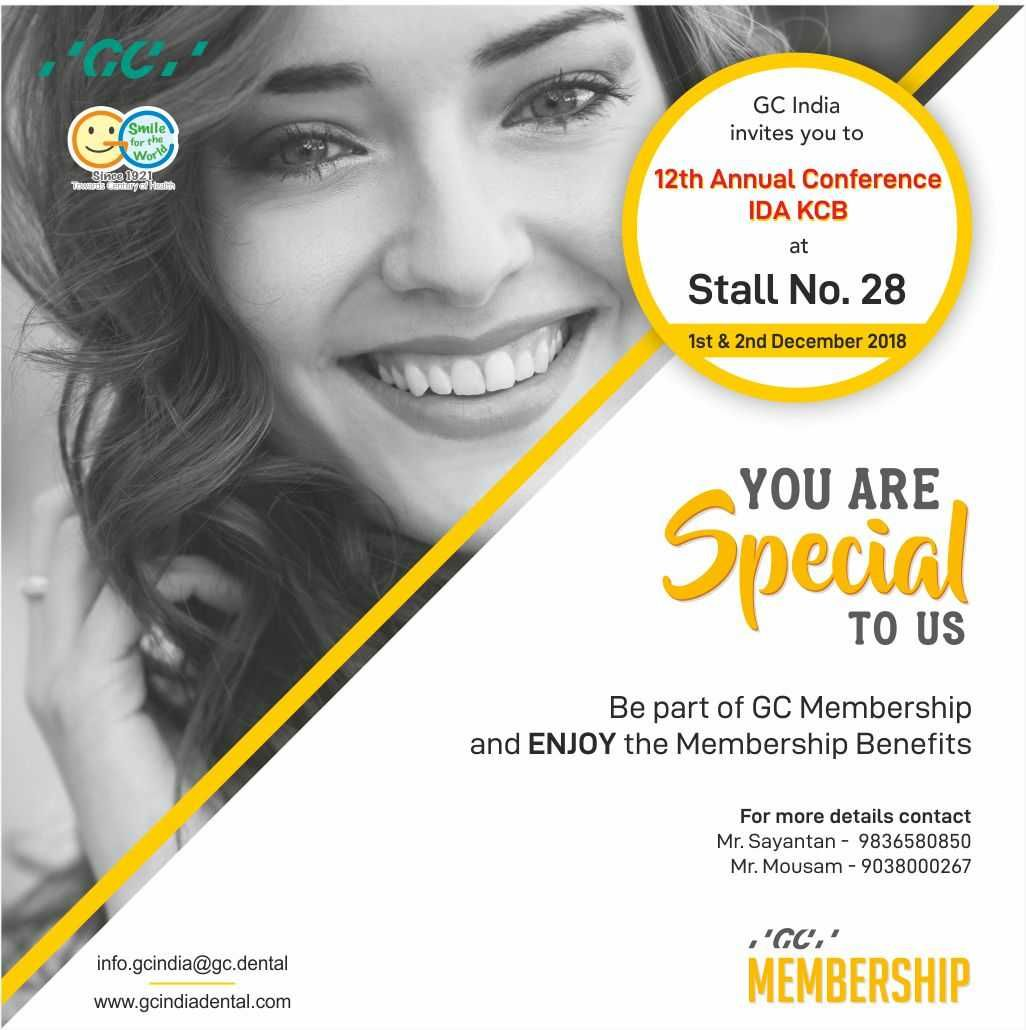 GC India invites you to be part of GC Membership and enjoy