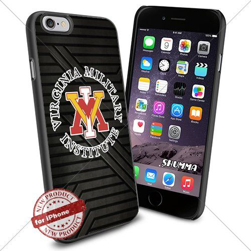 """NCAA-VMI Keydets,iPhone 6 4.7"""" Case Cover Protector for iPhone 6 TPU Rubber Case Black SHUMMA http://www.amazon.com/dp/B013SET23A/ref=cm_sw_r_pi_dp_dskZvb0D5A3SY"""