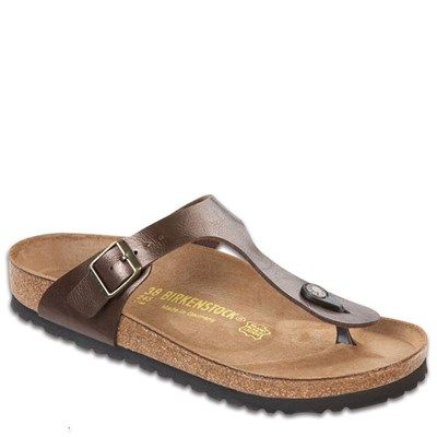 858e22f9a0e0 Birkenstock Gizeh Birko-Flor Toffee Sandal