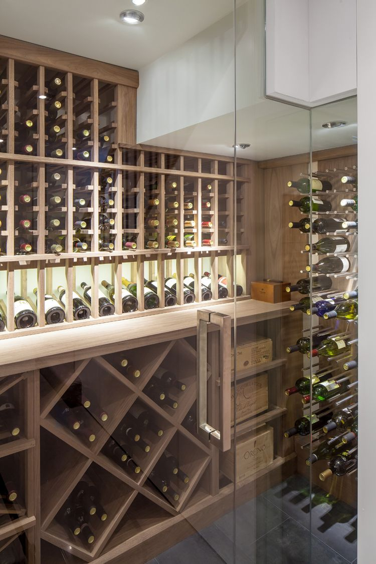 Transitional Wine Cellar by Papro Consulting 1 & Annex - Wanda Ely Architect   Basement u0026 Cellar   Pinterest   Ely ...