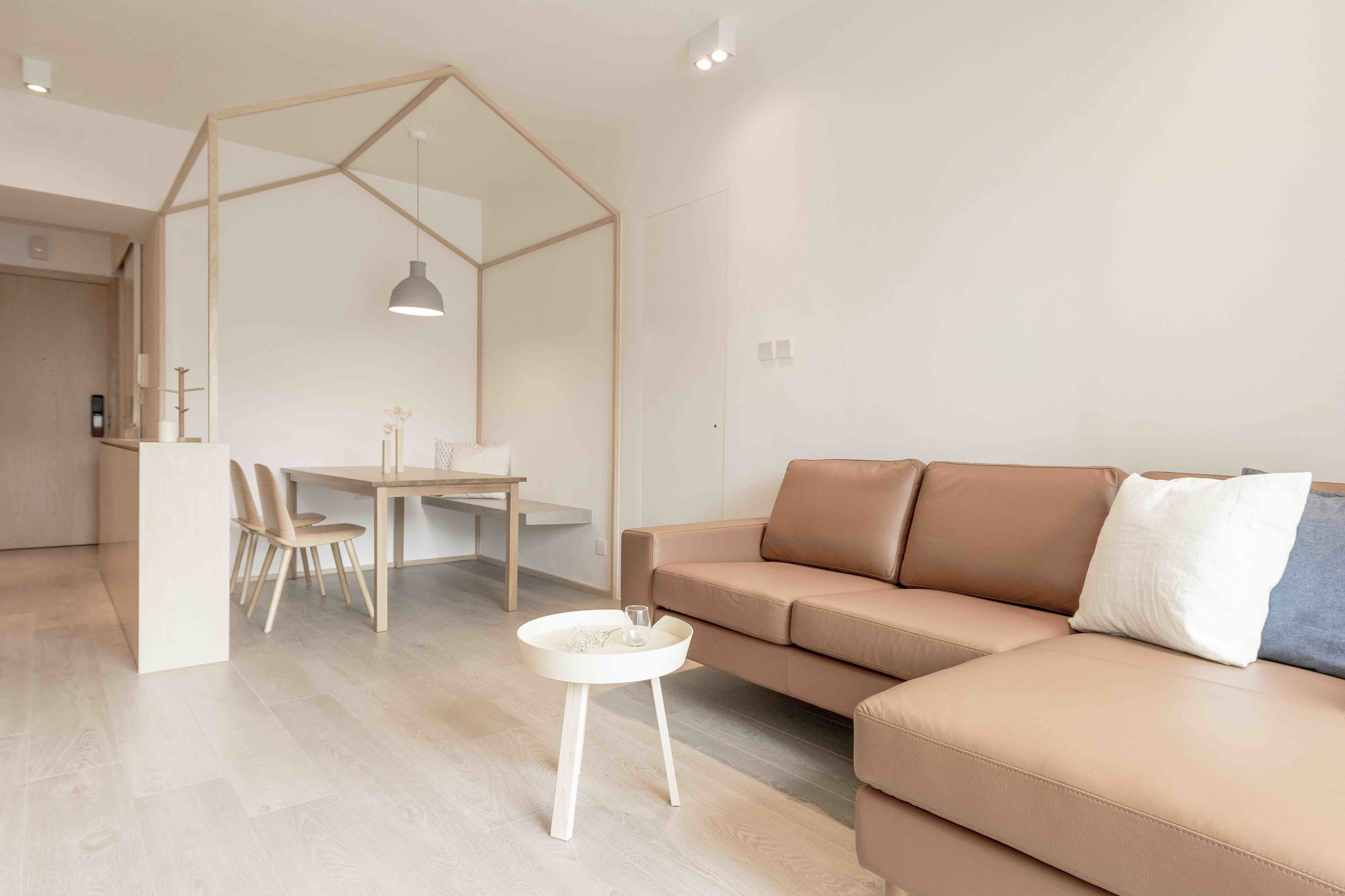 An Origami Inspired Apartment In Hong Kong With Tons Of Smart