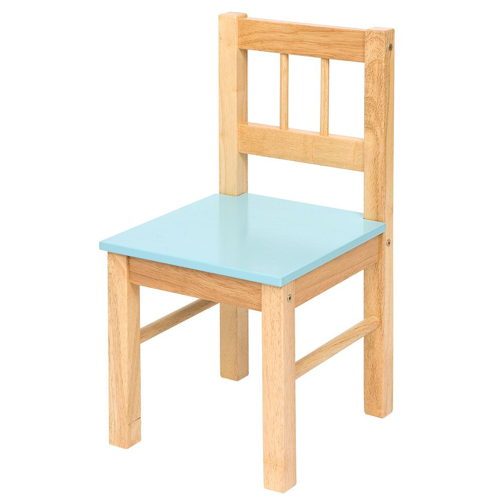Toddler Wooden Chair Wooden Chair Blue Bigjigs Toys Ltd Dacre Decorating Ideas