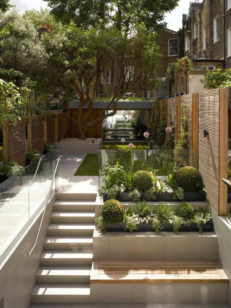 20 Marvelous Contemporary Landscape Designs That Will Make Your - gartenbrunnen modernes design