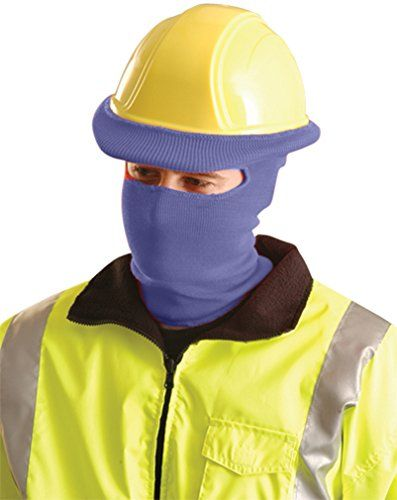 Stay Warm Classic Full Face Hard Hat Tube Liner Navy Blue2pack