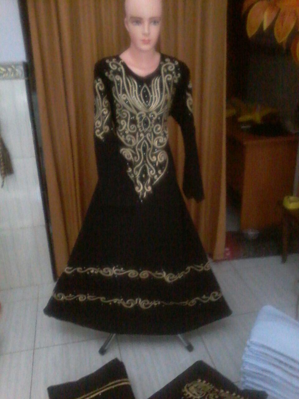 Gamis Akhwat Gamis Saudi Hitam Grosir Abaya Hitam Model Gamis Arab