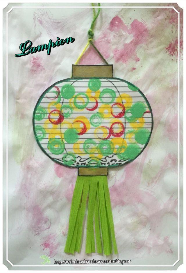 PETIT LAMPION Holiday Kids Crafts Chinese New Year