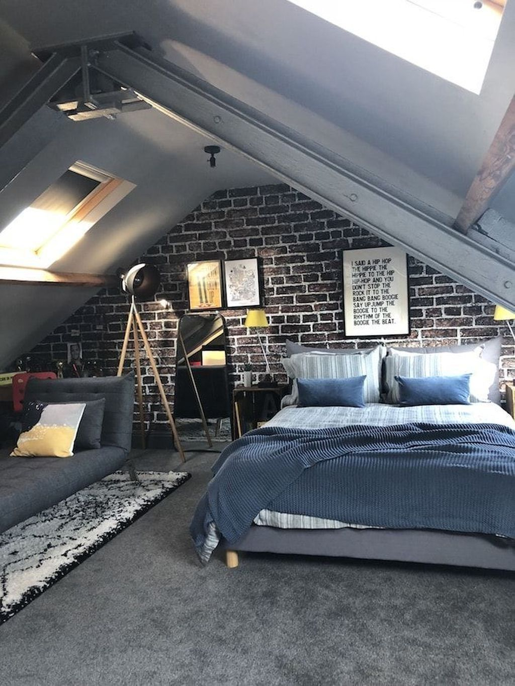 30 Unusual Attic Room Design Ideas Home Decor Cool Bedrooms