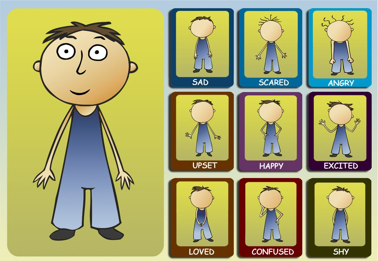 All About Me Feelings And Emotions Worksheet For Children