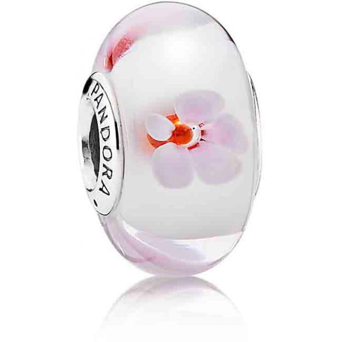 Charm Murano Fleurs de Cerisier Rose Pandora - 790947   Fleur de ...