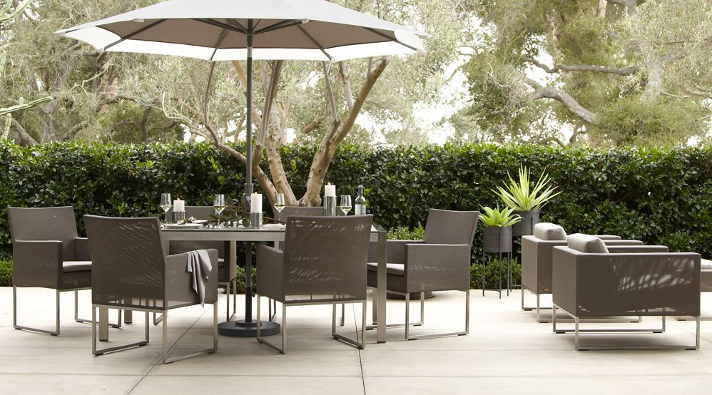 Love This Patio Furniture From Crate And Barrel Of Course Dune Complete Collection Via