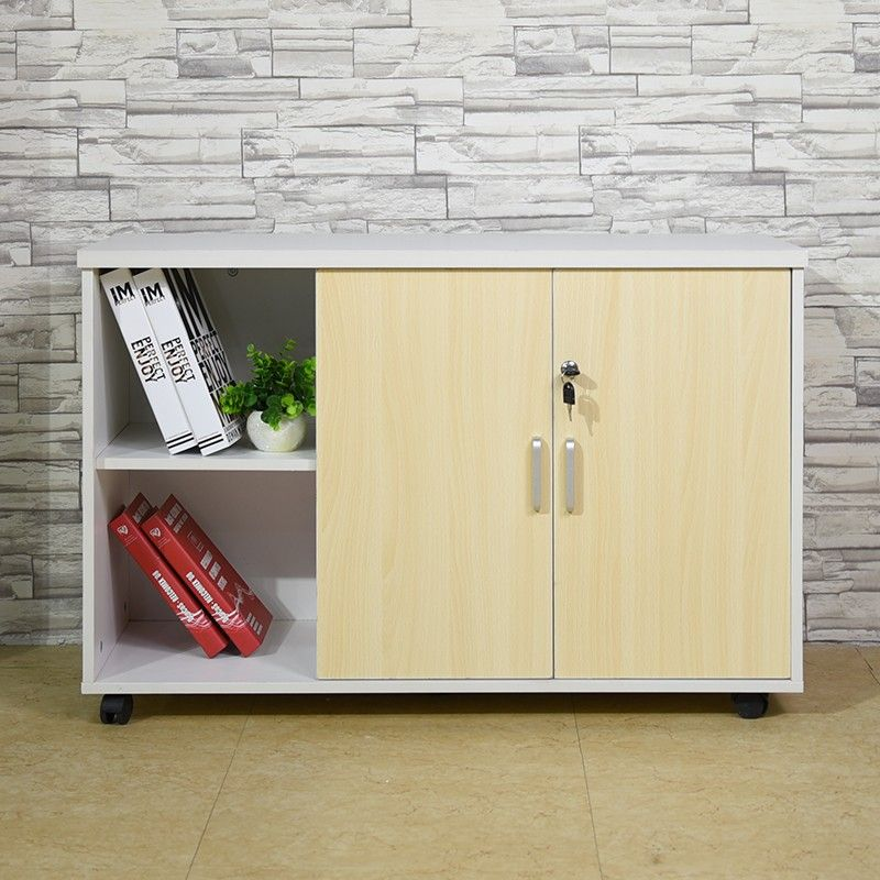 New Design Office 2 Doors Cheap Practical File Storage Cabinet With Wheels Office Design Filing Cabinet Storage Design