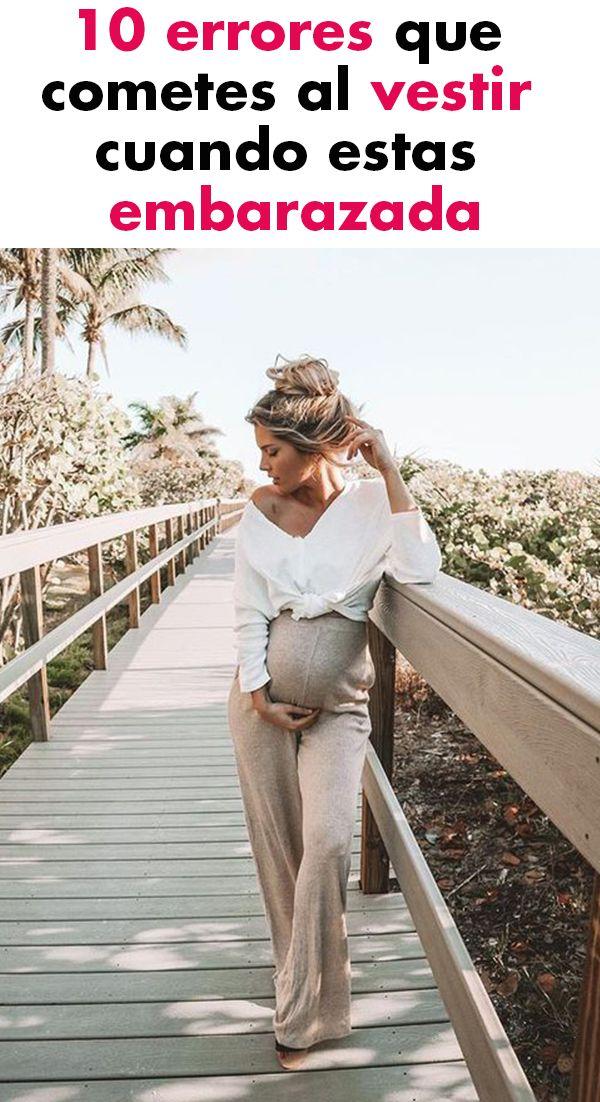 10 errores que cometes al vestir cuando estas embarazada