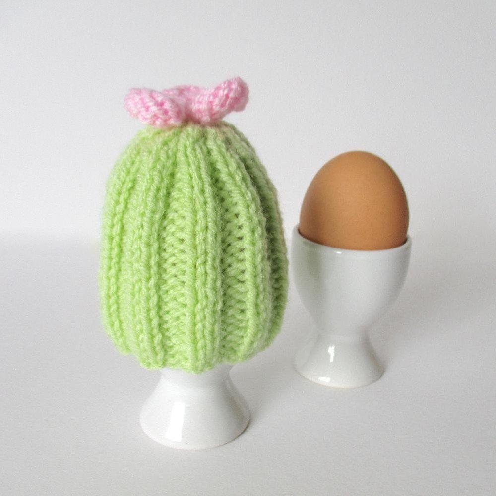 Cactus Egg Cosy Knitting pattern by Amanda Berry ...