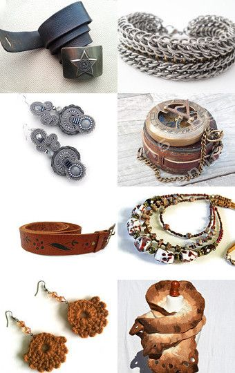Dress It Up With Unique Finds by Diana Mallea on Etsy--Pinned with TreasuryPin.com