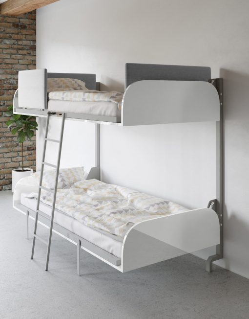 Hover Compact Fold Away Wall Bunk Beds Bunk Beds Bunk Bed Designs Bunk Bed Ladder
