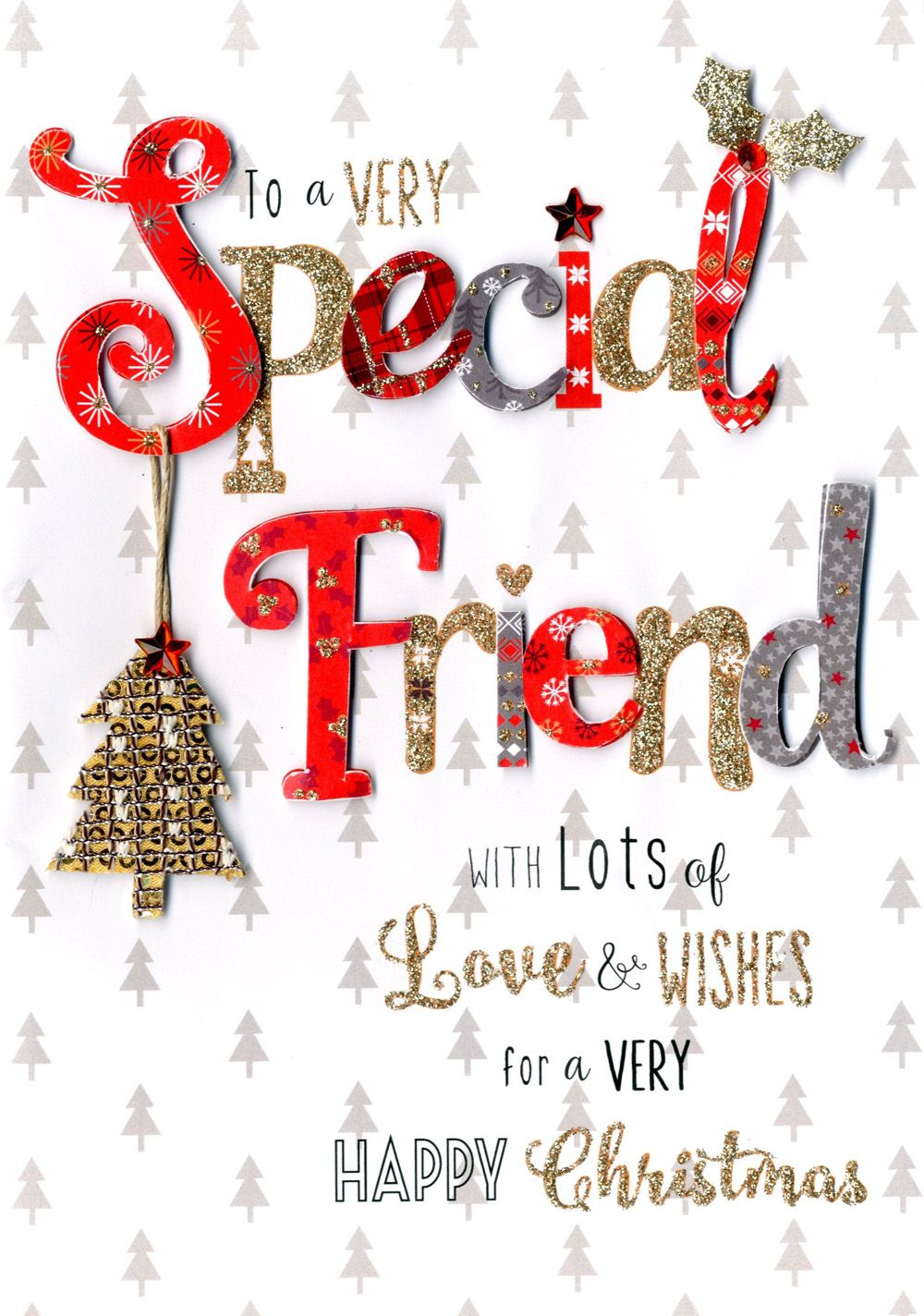 30 Christmas Greetings for a Friend to Make Them Happy