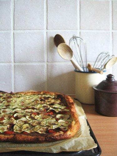 Tarte aux légumes : recette tarte legumes