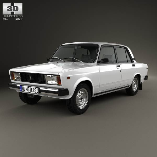 VAZ Lada 2105 1997 3d model from humster3d.com. Price: $75