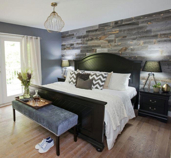 nice wandfliesen schlafzimmer gestalten schlafzimmerbank