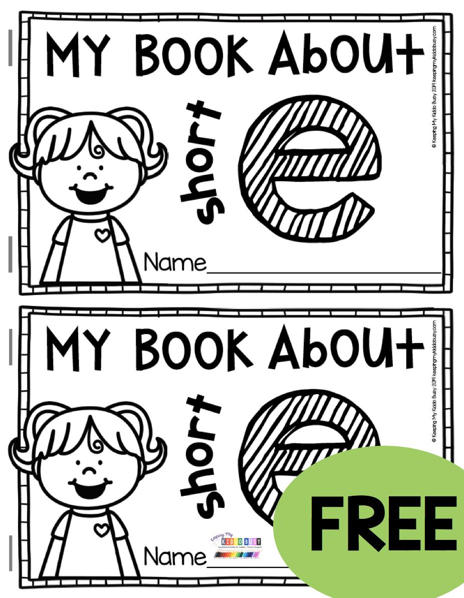 Freebie Phonics Mini Book Teaching Short Vowels And Cvc Words Kindergarten And First Grade Phonemic Aware In 2020 Cvc Words Kindergarten Phonics Kindergarten Phonics [ 1194 x 926 Pixel ]