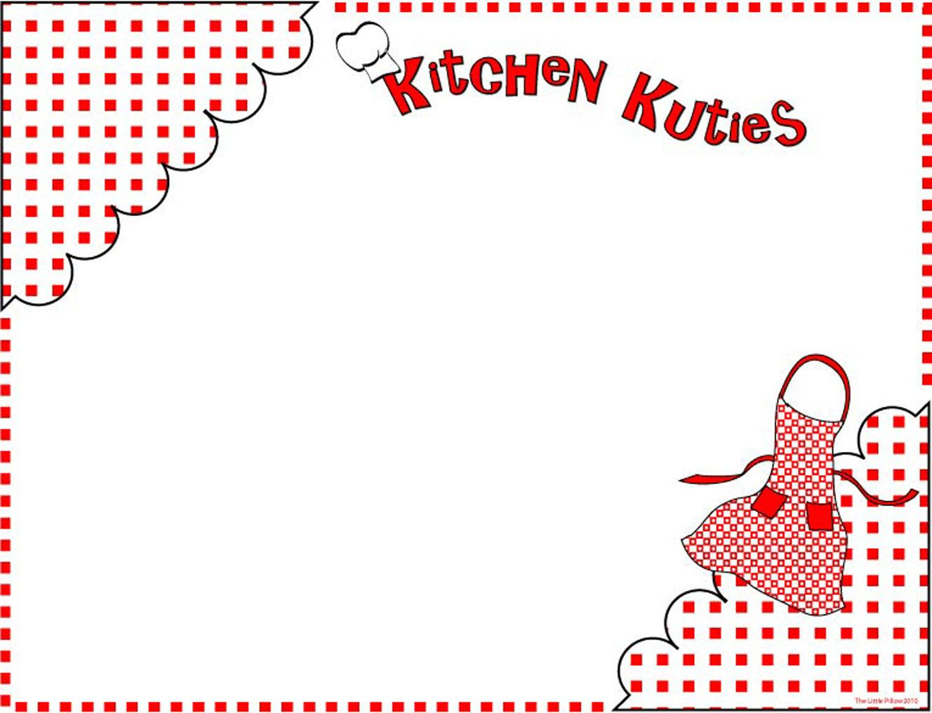 Kitchen Clip Art Borders
