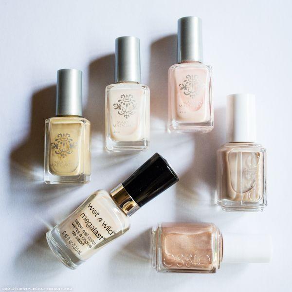 My favorite nude nail polish colors