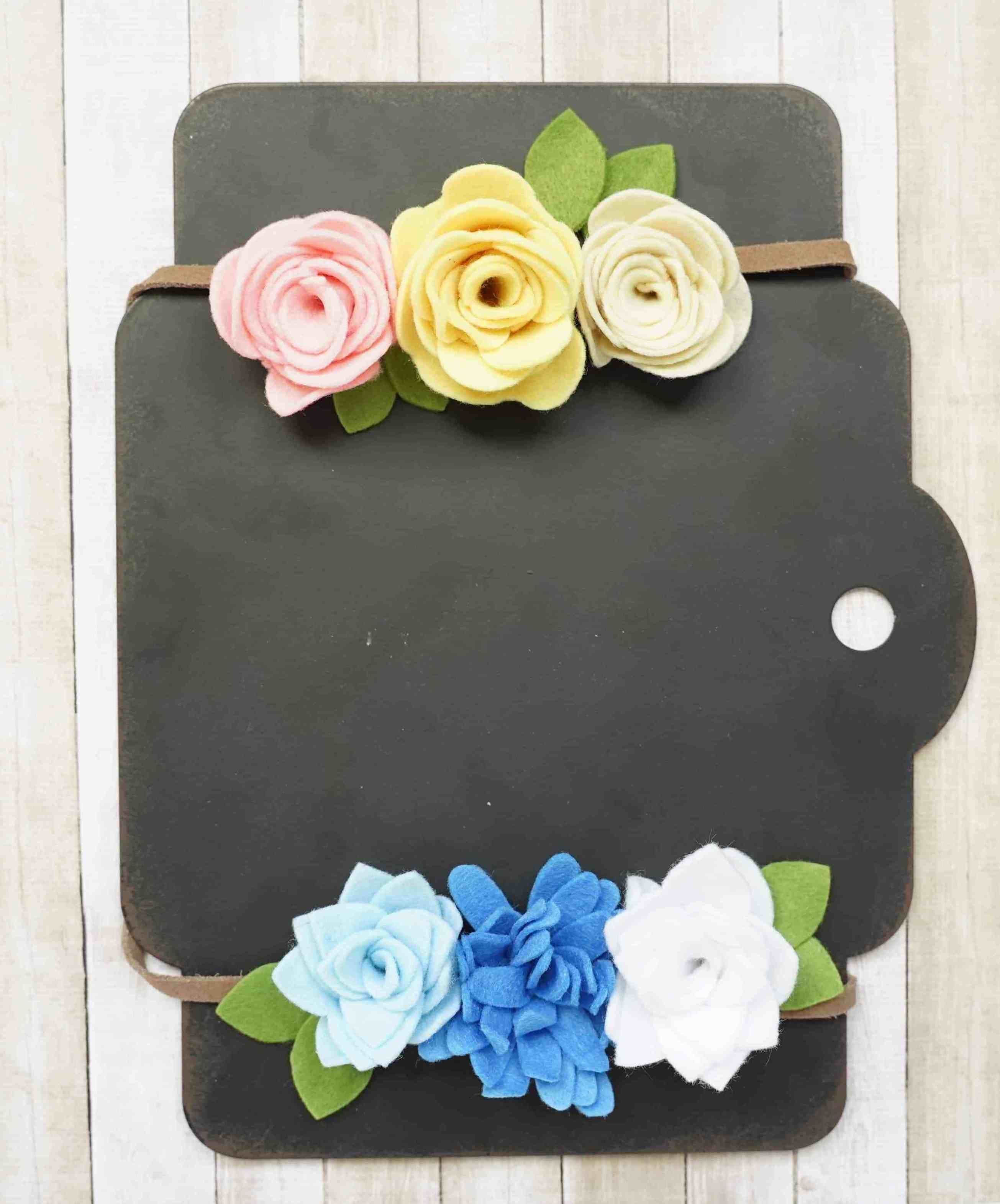 How to Make Felt Flowers - DOMESTIC HEIGHTS
