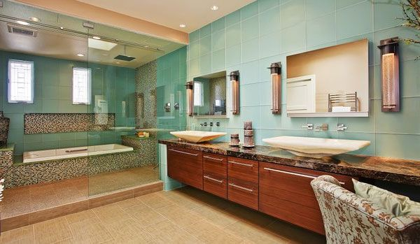 Japanese Style Bathroom | Jackson Design and Remodeling | Bathroom