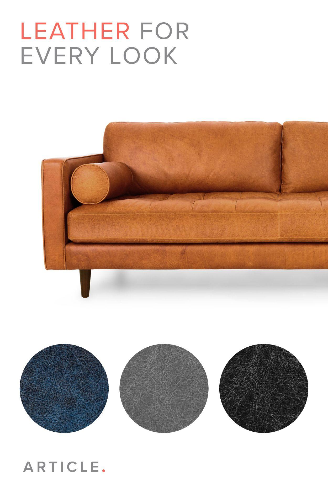 Tan Brown Leather Sofa Italian Leather