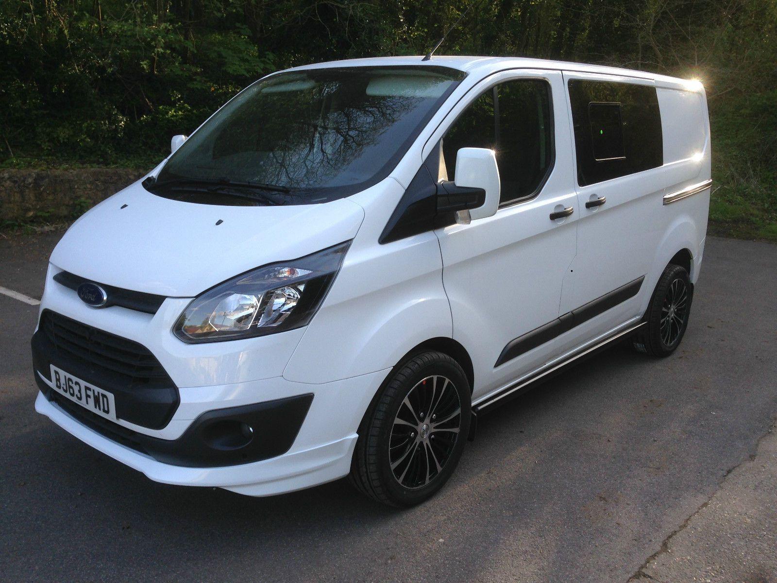 Ford Transit Custom Crew Double Cab 6 Seater Full S H No Vat Sport