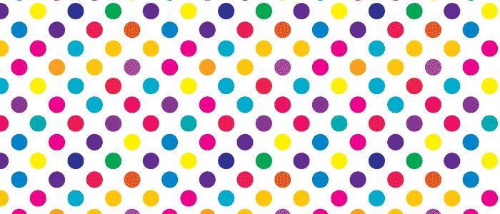 bright polka dot swatches Illustrator CC CS4 CS5 colorful ...