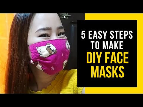 Photo of DIY Face Mask (5 EASY STEPS TO MAKE DIY FACE MASK) by Yellow Heart 💛