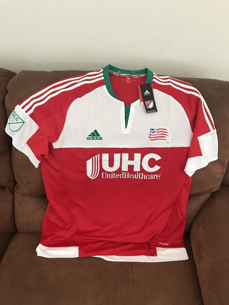 e59be3518 Adidas New England Revolution Mls Soccer Jersey NWT Size M Men s ...
