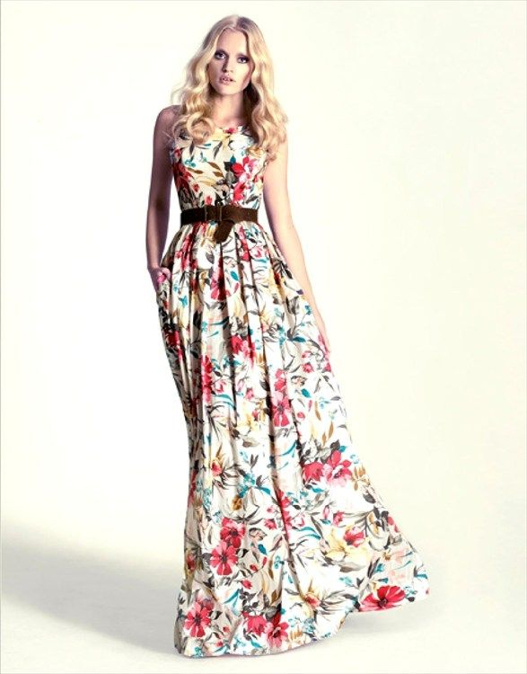 240d0b5a8 moda primavera (10) Vestidos Largos Baratos