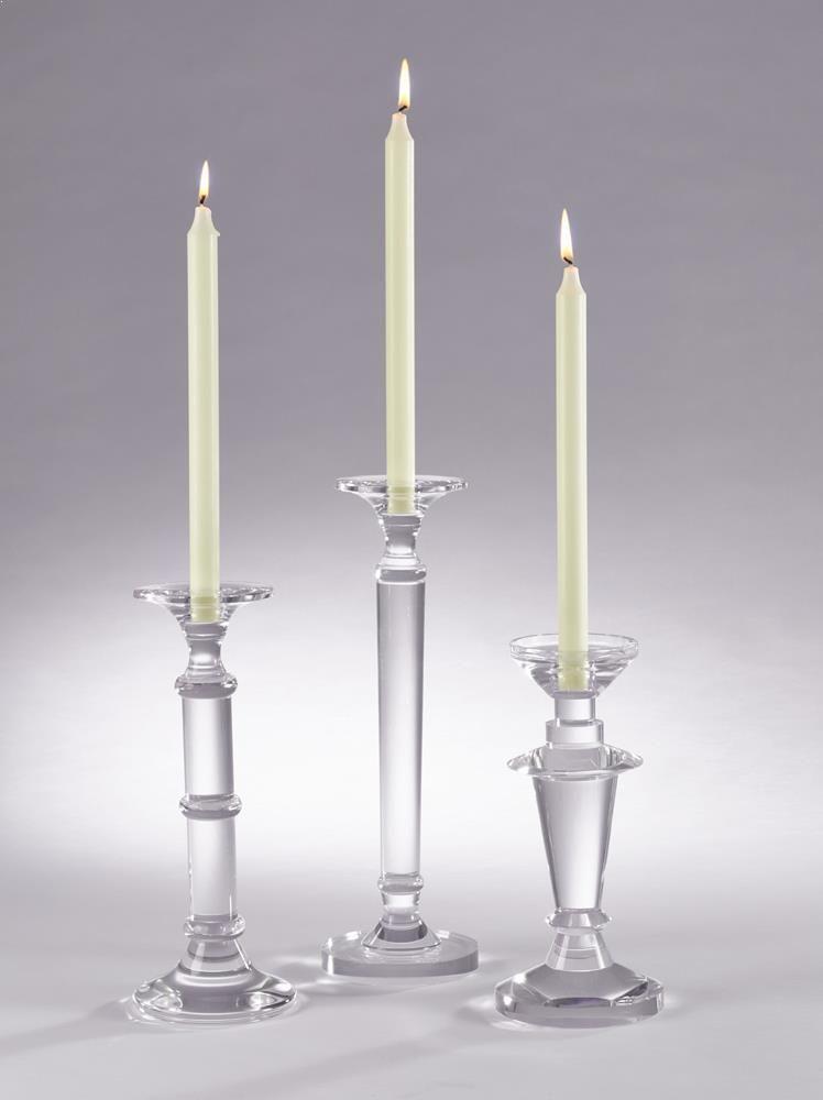 Saro Crystal Candle Holder