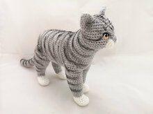 Photo of realistisches Katzenhäkelmuster von NiggyArts