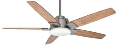 Casablanca - Zudio - The Zudio is seamless and simple enough to fit with practically any home décor. The unique blade irons envelop the motor housing and spin around the entire fan body. This contemporary model emphasizes the pure and simple elements of modern living with an exceptionally peaceful design.