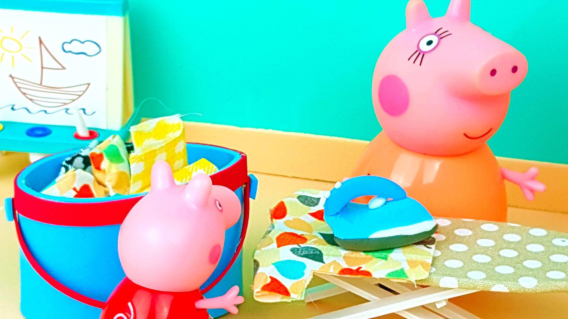 Ironing A Shirt Peppa Pig English Episodes New Episodes 2019