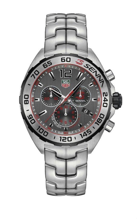 9fae32711fb Tag Heuer Apresenta Coleção Especial de Relógios Ayrton Senna ...