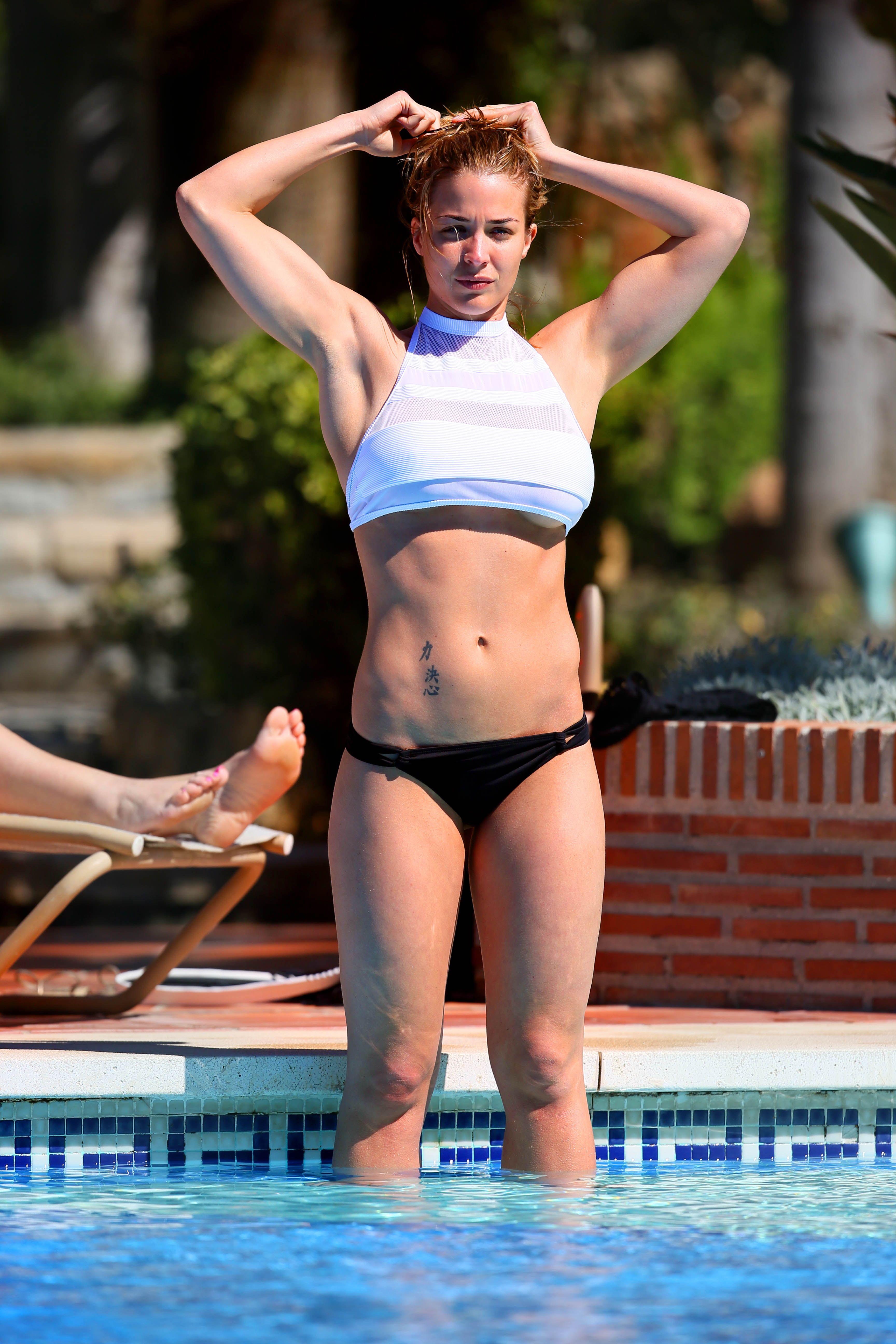 Gemma atkinson bikini think, that