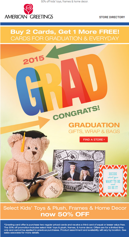 American greetings carlton cards email marketing design layout american greetings carlton cards email marketing design layout 2015 graduation cards gifts m4hsunfo