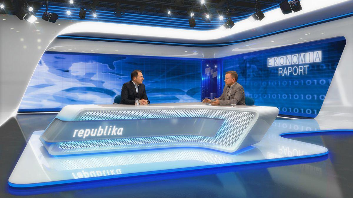 VIRTUAL SET FOR TV REPUBLIKA on Behance in 2020 Tv set