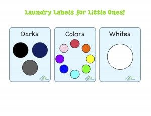 Laundry Labels Household C Sorting