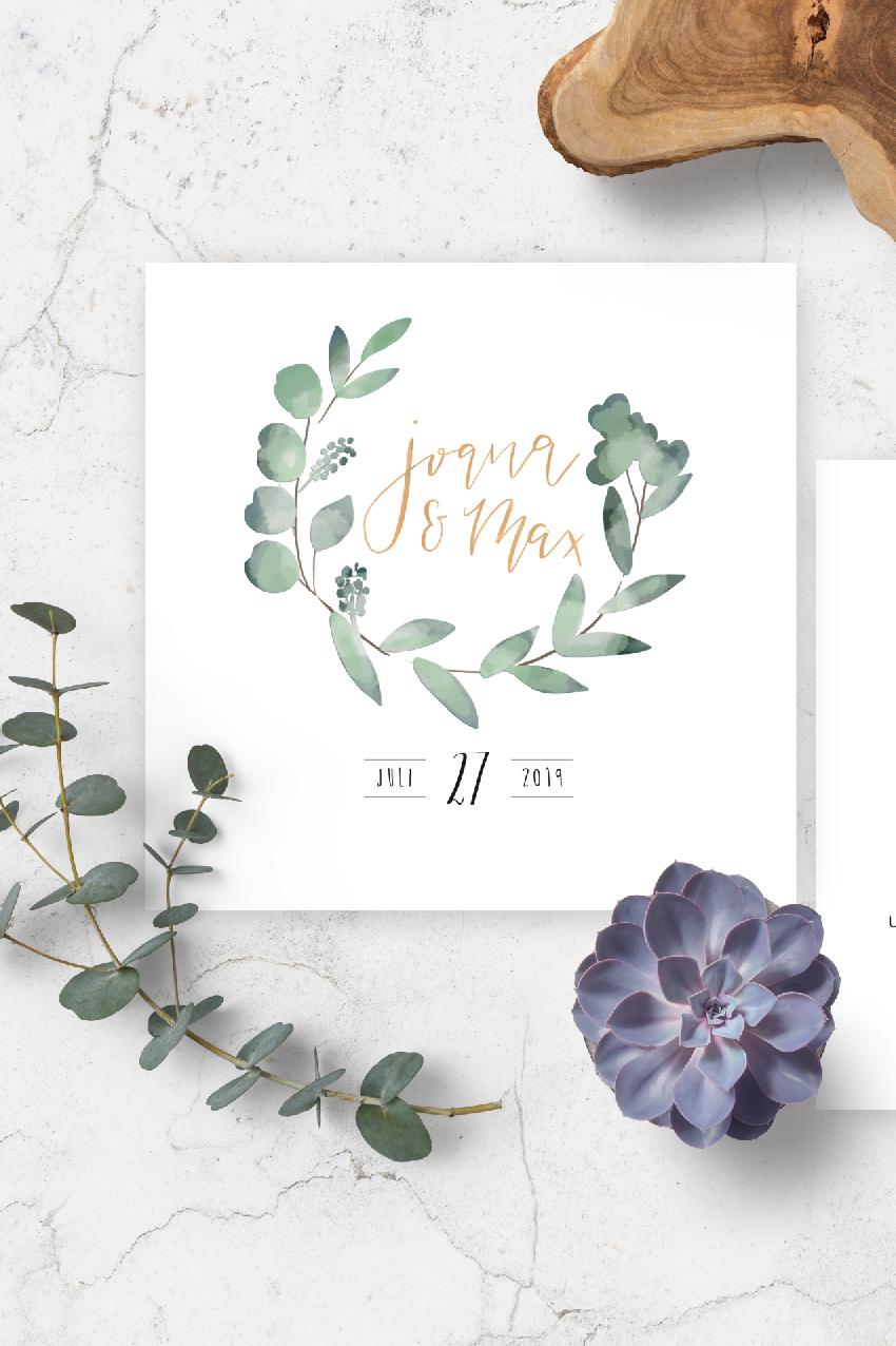 Pocketeinladung Mit Handlettering Und Aquarell In Pastell Anmut Und Sinn Eventstyling Dekoverleih Floristik Papeterie Einladungskarten Hochzeit Karte Hochzeit Einladungen