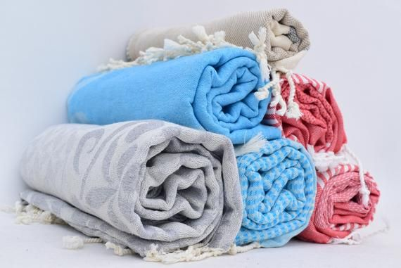 Set Of 6 Towels Set Of Turkish Towel Organic Cotton Towel 6