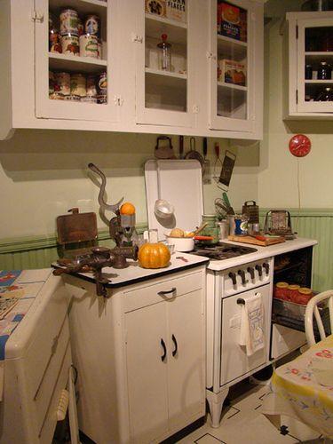 Vintage Kitchen, 1940s