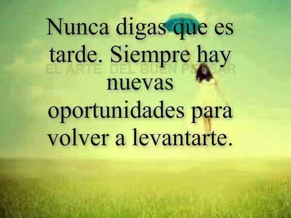 Nunca digas ;)