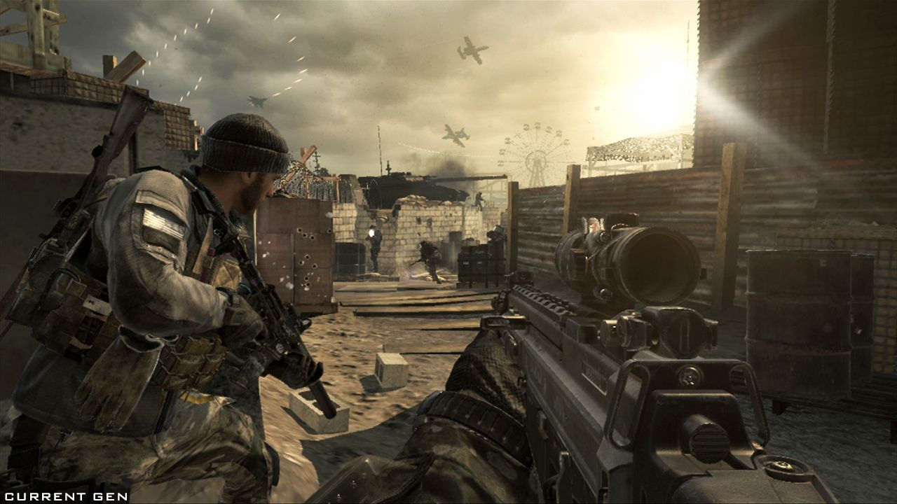 Cod ghosts_beach day current gen with images call of