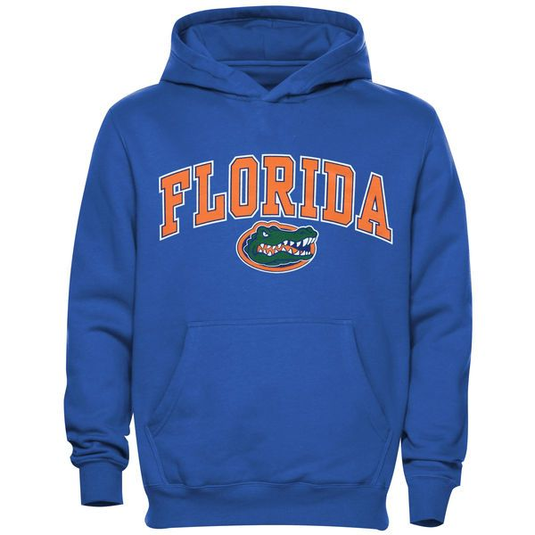 Florida Gators Youth Midsized Pullover Hoodie – Royal Blue - $29.99