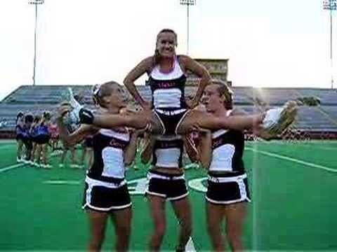 the teddy bear  youtube  cheerleading stunt youth
